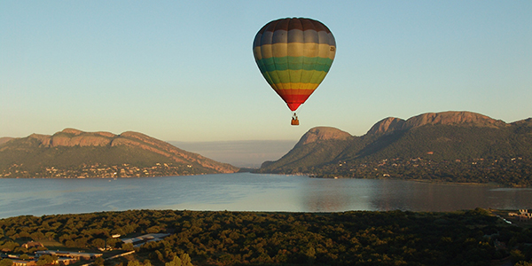 Mossel Bay Activities - Hot-air Ballooning